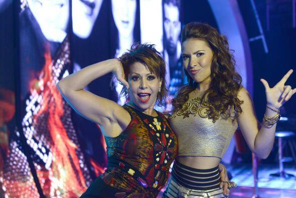 Aly Villegas se divirtió con Alejandra Guzmán.