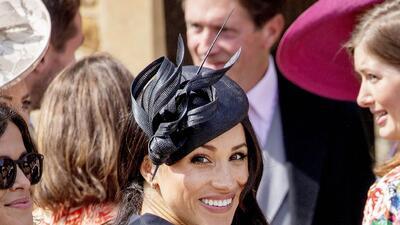 De la mano de Harry y sonriente: así se dejó ver Meghan Markle al cumplir 37 años