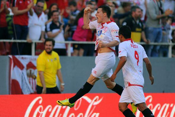 Sevilla conservó entre sus filas al francés  Kevin Gameiro que junto al...