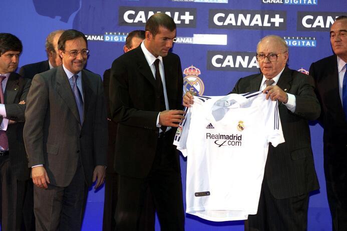 Enhorabuena, Míster Merengue Zinedine Zidane GettyImages-1569956.jpg