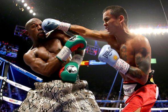 El sudamericano presionaba pero nunca encontró el golpe que pusiera en m...