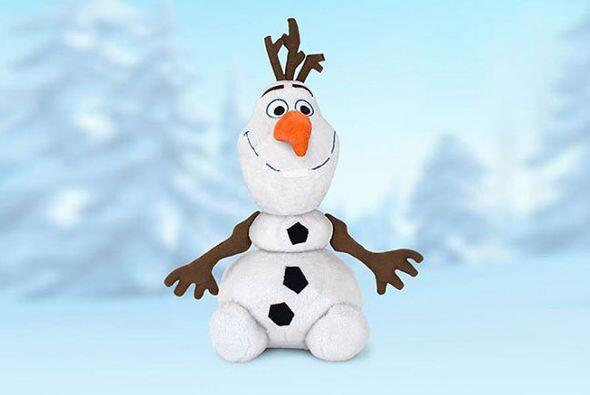 Un muñeco de nieve muy inusual. Olaf es tierno, cariñoso y muy simpático...