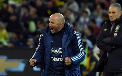 "Jorge Sampaoli: ""Hubo momentos, tampoco fueron muchos, en donde Brasil p..."