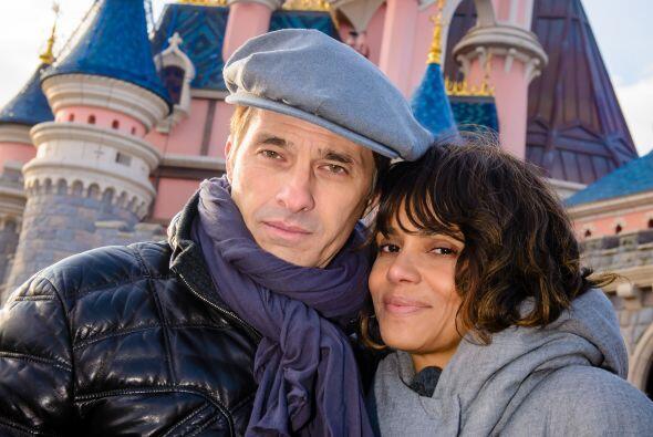 Halle Berry pasó sus vacaciones de fin de año en Disney.