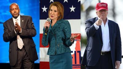 Precandidatos republicanos a la presidencia se alistan para debate