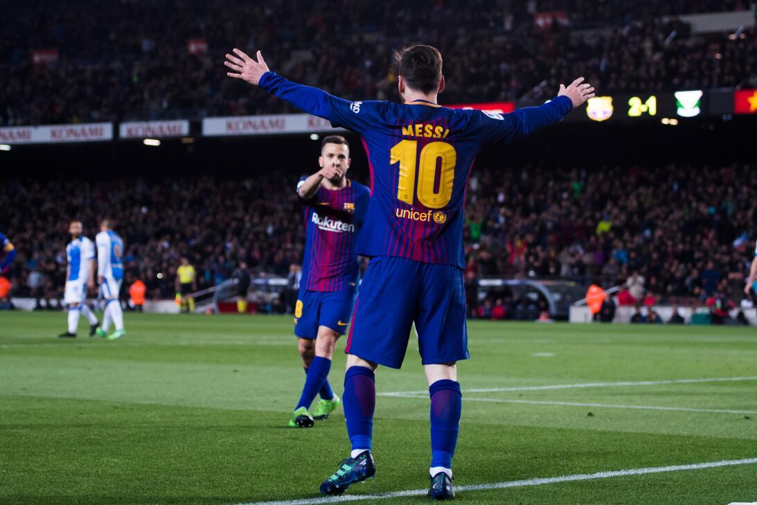 El pasado 7 de abril, Barcelona derrotó 3-1 al Leganés y con esto igualó...