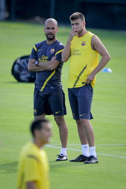 Les traemos las primeras imágenes del Barcelona para la temporada 2011-12.