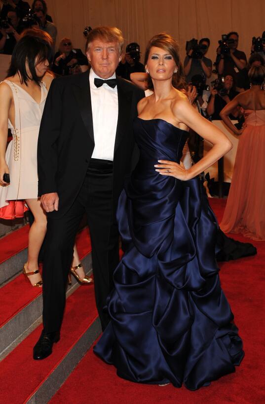 Melania Trump, una primera dama inesperada GettyImages-98824763.jpg