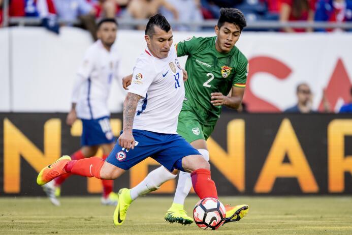 El ranking de los jugadores de Chile vs Bolivia 20-GettyImages-539311450...