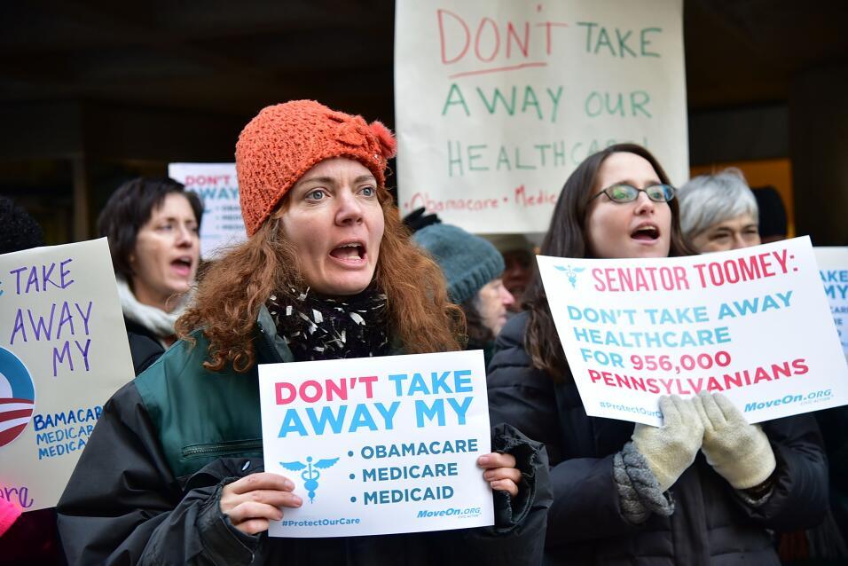 Colapsa el plan de Trump para sustituir Obamacare por falta de apoyo rep...