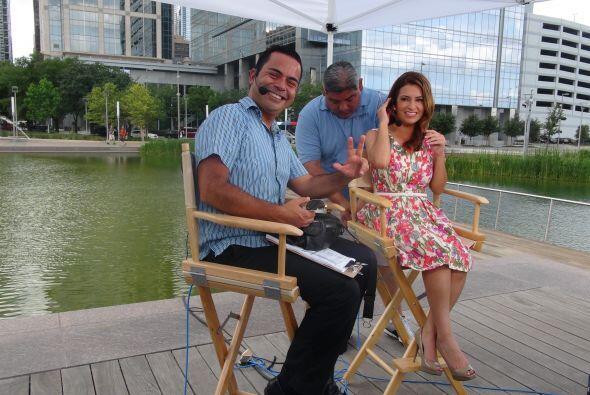 MAYO  Aprovechando el buen clima de este mes, Univision 45 inició'Desde...
