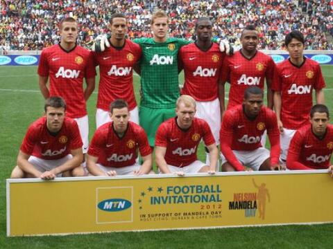 Manchester United sigue de gira por Sudáfrica y jugaó un p...