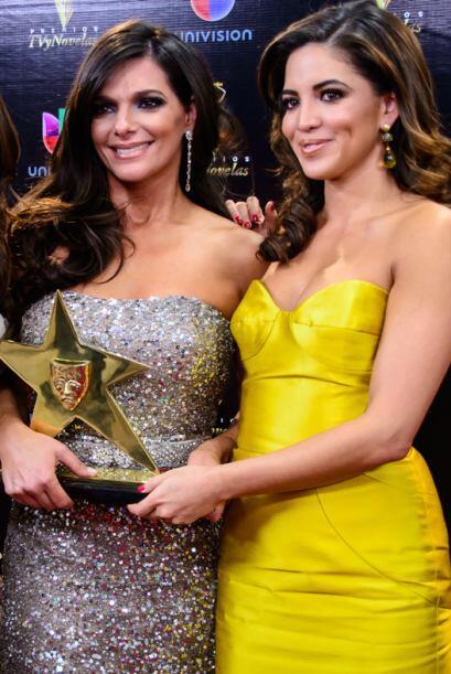 Bárbara Bermudo y Pamela Silva-Conde recibieron el reconocimiento que se...