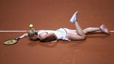 Marta Kostyuk, la bella prodigio de 15 años que es centro de atención en el tenis mundial