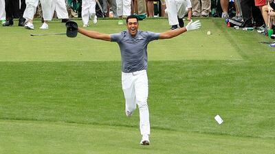 La increíble historia de Tony Finau con la alegría que fue pesadilla en Masters de Augusta