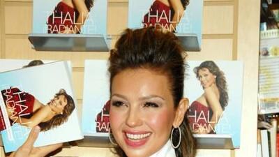 La extrovertida Thalía ha querido dar la bienvenida al año 2014 haciendo...