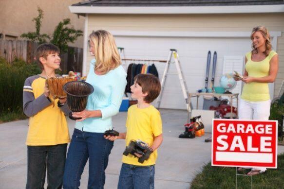 Empieza tu venta jueves o viernes- Además de esto, tu venta de garaje de...