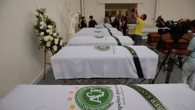 Las víctimas del siniestro llegarán el viernes por la madrugada a Brasil.