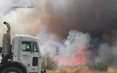 Gobernador de Arizona declara estado de emergencia por incendios forestales