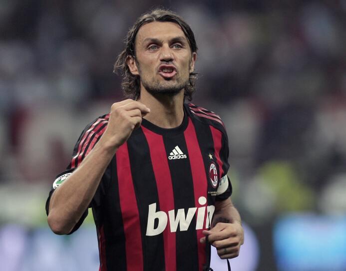 La calidad de Paolo Maldini era innegale y eso lo convirtió en el mejor...