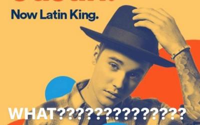 Así quiso celebrar Spotify el éxito de 'Despacito'.