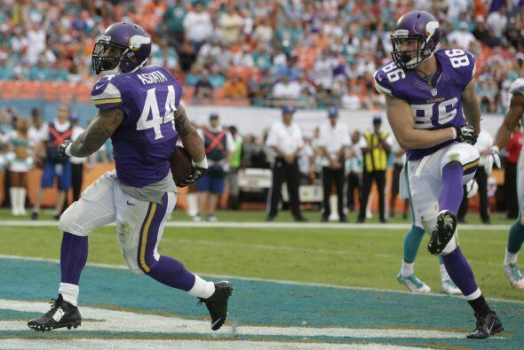 11.- Minnesota Vikings (AP-NFL).