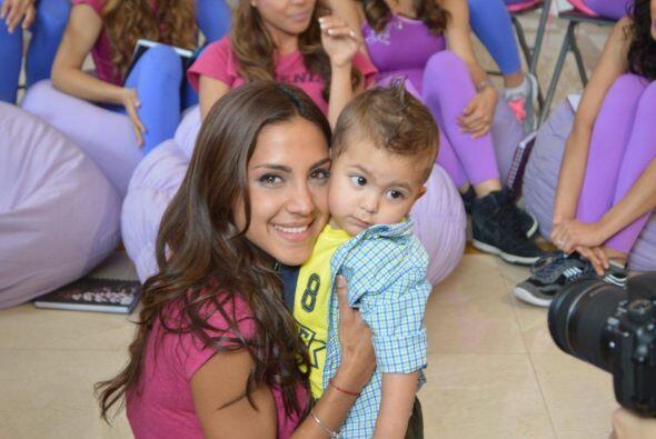 La venezolana estaba muy preocupada por no poder estar con su bebé en el...