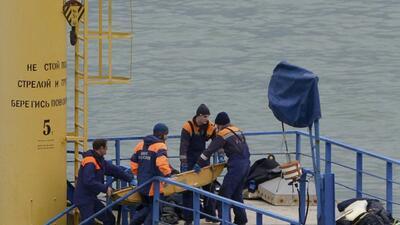 Un avión ruso que se dirigía a Siria se estrelló en el Mar Negro con 92...