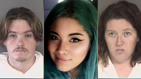 Lizette Cuesta (centro) identificó a Daniel Gross y a su prometid...
