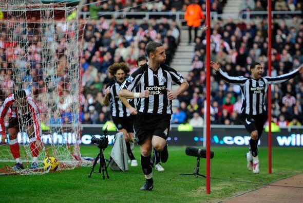 El gol de Kevin Nolan parecía suficiente para que las 'Urracas' triunfaran.
