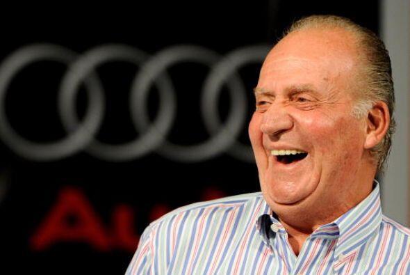 Juan Carlos asiste a la premiación de la 28 Copa de Vela del Rey Audi Ma...