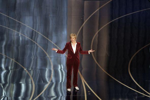 Si se habían olvidado de que Ellen ya había desfilado en  alguna ocasión...