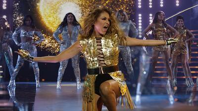 'Peligrosa como un huracán': así llegó Paulina Rubio a la tercera gala de Nuestra Belleza Latina