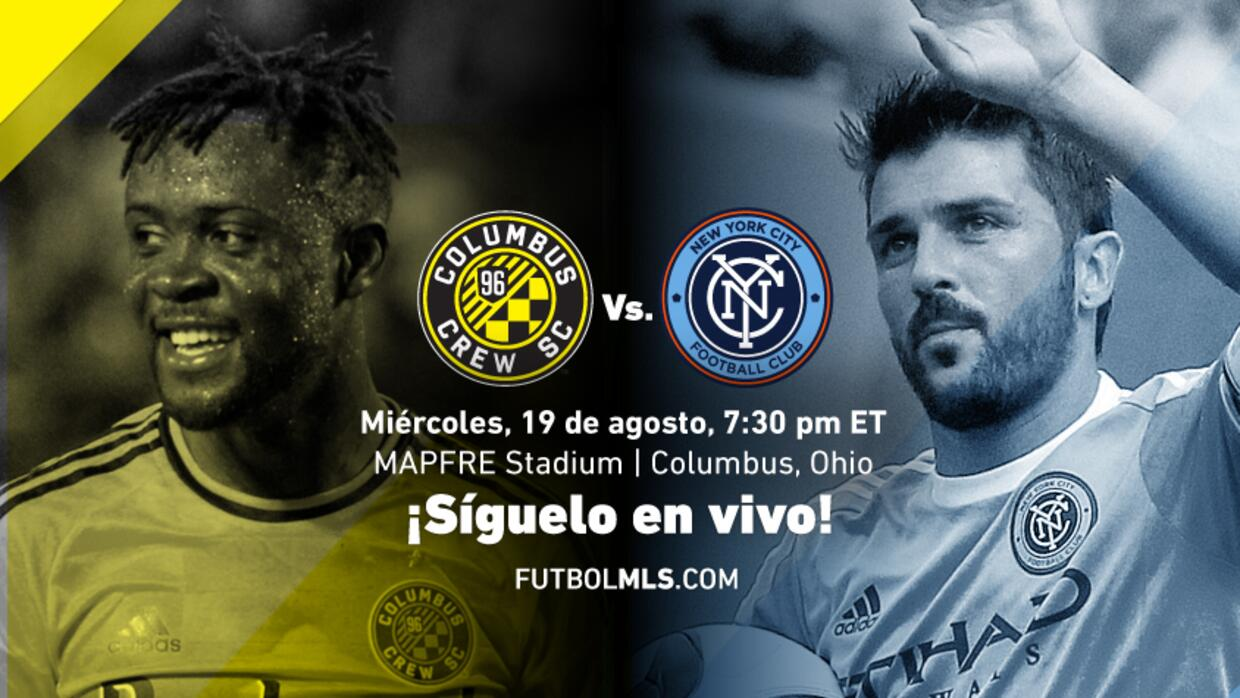 Sigue en vivo Columbus Crew SC vs New York City FC
