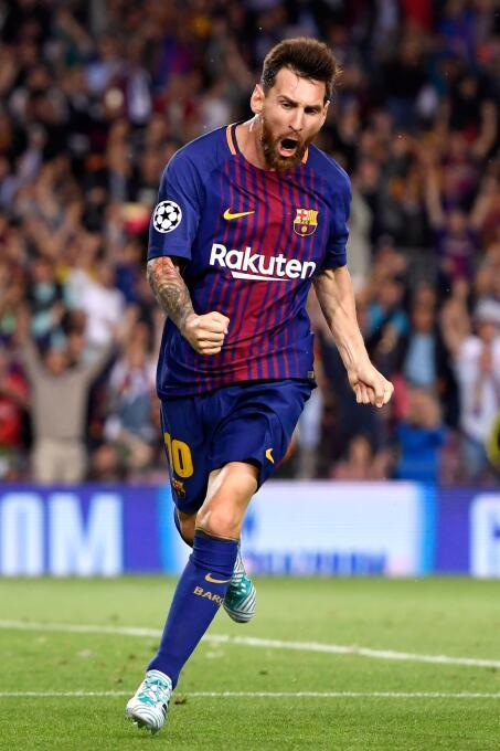 Delantero: así como CR7, Lionel Messi tiene puntaje de 94 en el FIFA 18,...