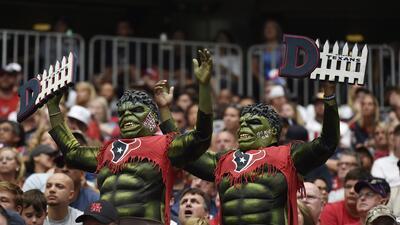 Fans de locura en la Semana 4 de la NFL