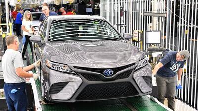 12 fábricas dentro de EEUU donde las automotrices japonesas construyen más de 4 millones de vehículos al año