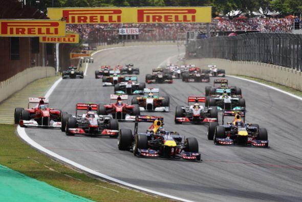 Mark Webber se llevó la victoria en la última carrera del calendario 201...