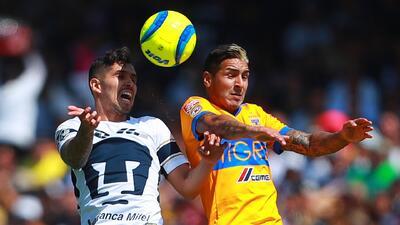 Estadísticas de los últimos cinco juegos entre Pumas y Tigres en Ciudad Universitaria