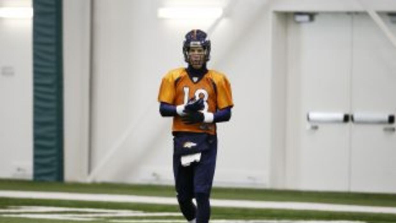 Peyton Manning se ha adecuado a su supuesto némesis, el frío (AP-NFL).