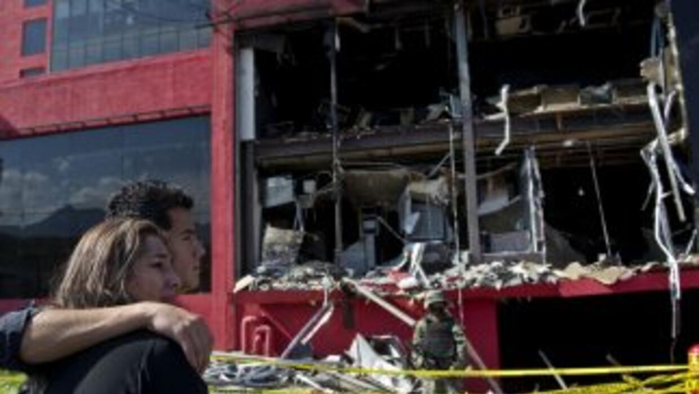 Ataque al casino Rayele, en Monterrey, México.