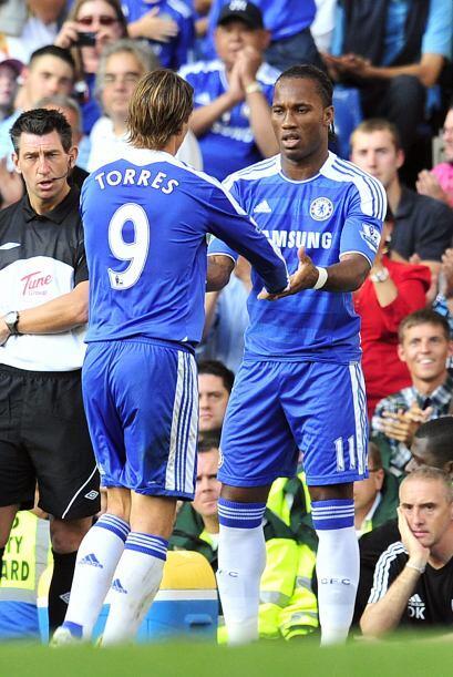 Fernando 'El niño' Torres no jugó bien y se fue reemplazado. El español...