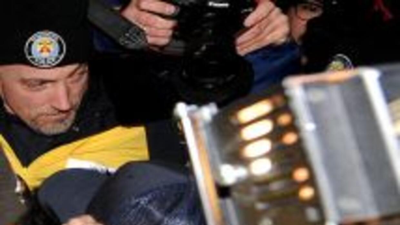 Justin Bieber se entregó a la policía canadiense.