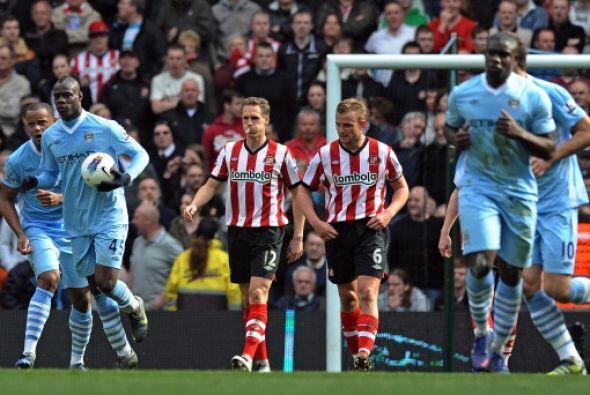 El Manchester City empató un partido vibrante ante el Sunderland,...