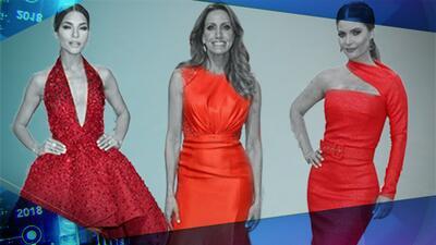 Del magenta al carmín: tenemos los vestidos rojos más espectaculares de la alfombra de Premio Lo Nuestro