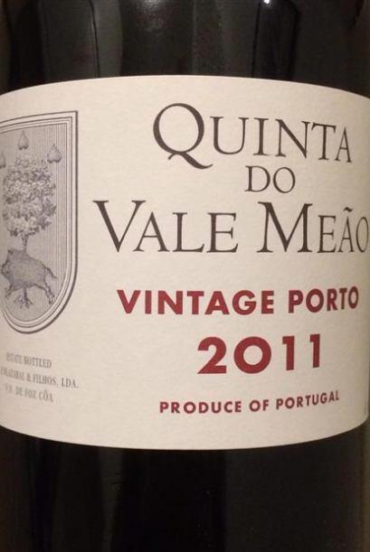 En cuarto lugar, también tenemos un vino portugués, el Quinta do Vale Me...