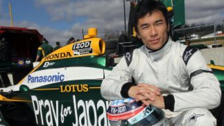 El mensaje que llevarán los coches de la Sauber, en caracteres japoneses...