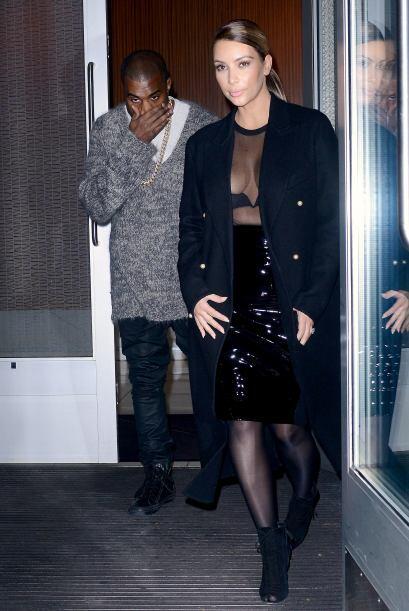 Salió a cenar con su amado Kanye West. Mira aquí los videos más chismosos.