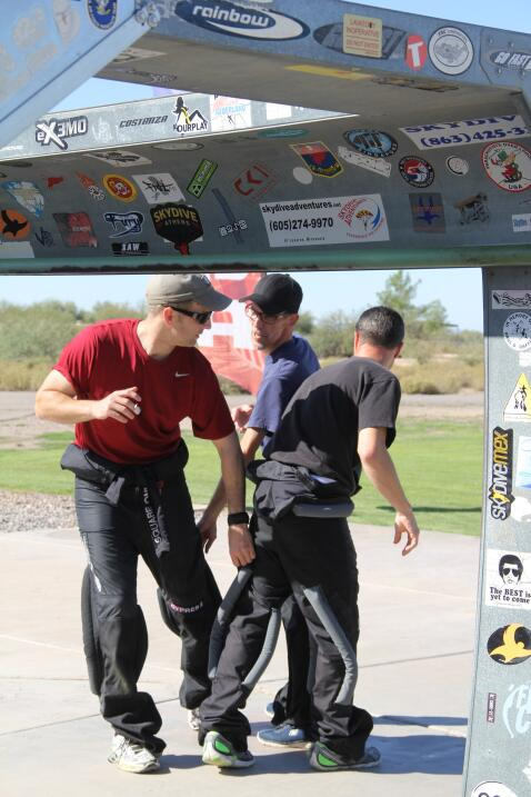 Campeonato Nacional de Paracaidismo en Arizona
