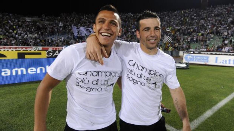 El delantero italiano destaca la calidad de su ex compañero en Udinese.